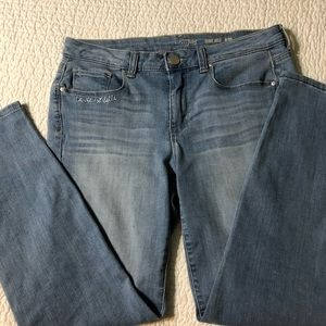 Maison Jules skinny ankle jeans 6/28